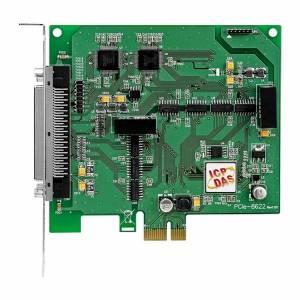 PCIe-8622 Многофункциональный адаптер PCI Express, 200 kS/s, 16-bit, 16 каналов аналогового ввода, 2 канала 16-bit аналогового вывода, 12 каналов DIO с изоляцией