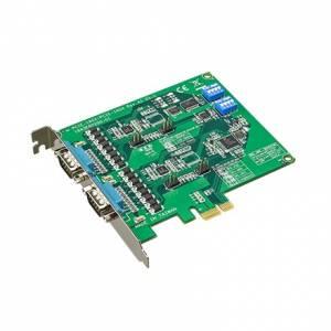 PCIE-1604C-AE PCI Express x1 адаптер 2xRS-232 разъем DB9 Male, c защитой от перенапряжения и изоляцией
