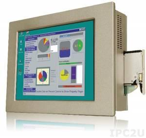 "PPC-5170AD-H61-i5/R-R10 Панельная рабочая станция с 17"" TFT LCD, алюминиевая передняя панель, Intel Core i5-2xxxT (свыше 2,7ГГц), TDP 35Вт, 2х2Гб DDR3, отсек 1x2.5"", отсек для Slim DVD-ROM, 1xCF II, 1xPCI или 1xPCIe, БП ACE-4520C"