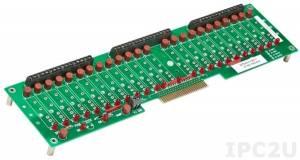 SCMD-PB24SMD Плата клеммников для установки 24 модулей серии SCMD, компактное исполнение, монтаж на DIBN-рейку