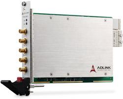 PXIe-9852 Плата ввода PXIe, 3U, 2SE канала AI 14 бит, скорость оцифровки 200МГц, одновременная оцифровка всех каналов, память 1Гб