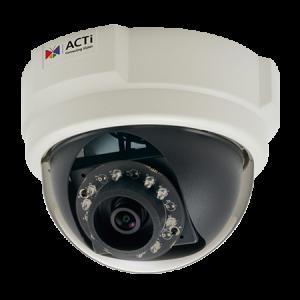 E58 2 МП купольная IP-камера, f3.6мм/F1.85, H.264/MJPEG 1080p/30кадр/сек, день/ночь, адапт. ИК подсветка, WDR, DNR, PoE, -10C...+50C