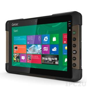 "Getac T800 Basic 8.1"" 1280x800 Rugged IP65 Tablet PC, MultiTouch, Intel Pentium N3530 2.16GHz, 4GB RAM, SSD64GB, 8MP Camera, HD Webcam, Bluetooth/WLAN, micro-HDMI, USB, Windows 8.1 Pro , 4200mAh Battery"