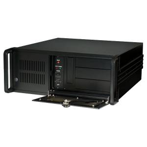 iROBO-410A5-17M 4U Industrial Computer, Support Intel Core-i3/i5/i7 3th Gen. LGA1155 CPU, Intel B75 Chipset, 4GB DDR3 RAM (max.16GB), 500GB HDD, VGA, 2xGbit LAN, 1x ISA, 12x PCI Slots, 400W PSU