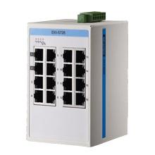 EKI-5726I-AE 16-port Gigabit Ethernet ProView Switch with Wide Operating Temperature Range: -40...+75C