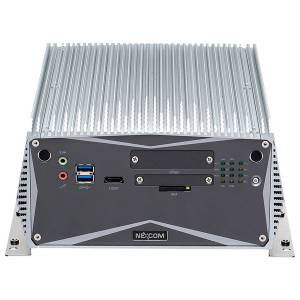 "NISE-3700P2E-C226 Fanless Embedded Server, Support 4th Gen Intel Core i7/i5/i3 CPUs, Intel C226 Chipset, up to 8GB DDR3L RAM, DVI-I, DVI-D, 2xGbit LAN, 6xUSB, 3xCOM, CFast Socket, Audio, 1x2.5"" SATA HDD Bay, 1xPCI, 1xPCIex4, 2xminiPCIe, 9-30V DC-In"