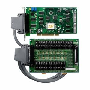 PCI-1002HU/S Многофункциональный адаптер Universal PCI, 32SE/16D каналов АЦП, 16DI, 16DO, таймер, разъем CA-4002x1, плата клеммников DB-1825