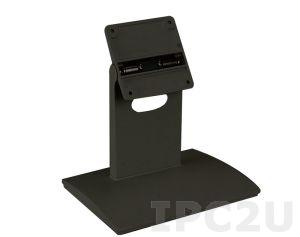 """STAND-C12 Настольная подставка для LCD Монитора/PPC, 5.7""""..12.1"""" VESA 100x100mm, 75x75mm, Рассчетная нагрузка до 7.5 Кг, Черный цвет"""