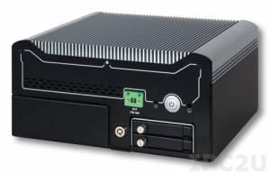 "WEBS-3583-4330TE Компактный безвентиляторный компьютер с Intel Core i3-4330TE 2.4ГГц, Q87 chipset, VGA/DP/HDMI, 2xGb LAN, 6xCOM, 4xUSB 3.0, 4xUSB2.0, отсеки 2x2.5"" SATA HDD, mSATA, Mini-PCIe, 2xPCIe x1, Audio, адаптер питания 120Вт"