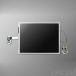 "IDK-2108R-K2SVA2E 8,4"" LCD 800 x 600 Open Frame дисплей LED, 1200нит, резистивный сенсорный экран (USB), LVDS"