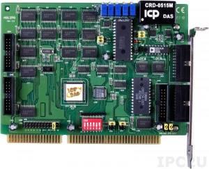 A-812PG Многофункциональный адаптер ISA, 16SE каналов АЦП, 2 канала ЦАП, 16DI, 16DO, таймер