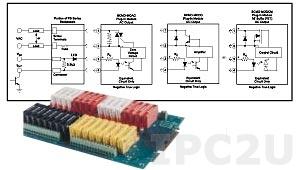 SCMD-MOAC5C Изолирующий модуль вывода дискретных сигналов, вход 5 В, выход 24...300 В AC