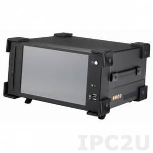 """ARP101-M10WD Шасси для промышленной переносной рабочей станции, 10.1"""" TFT LCD, сенсорный экран, 1280x800, 200нит, поддержка процессорных плат Micro ATX, 4 слота расширения, DVI, отсеки 2x 2.5"""" HDD, 1x Slim DVD-RW, 2 встроенных динамика 2Вт, источник питания 300Вт"""