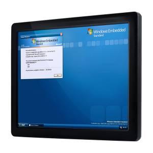 "PPC-104T-D2N5N-GE Безвентиляторная панельная рабочая станция 10.4"" TFT LCD, Vortex86DX2 933МГц CPU, 2Гб DDR2, SATA Slim слот, CF слот, 2xCOM, 3xUSB 2.0, PS/2, 1xLAN, 1xGigaLAN, Аудио, питание 12-24В DC"