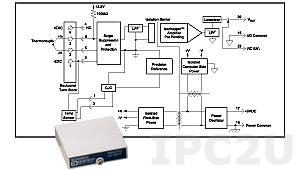 SCM5B47J-03 Нормализатор сигнала термопары с линеаризацией типа J , вход 0...+500 °C, выход 0...+5 В