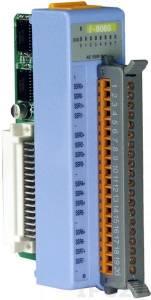 I-8065 Низкопрофильный модуль вывода, 8 каналов вывода с твердотельного реле, AC, с изоляцией до 1500В, параллельная шина