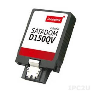 DESI-04GJ30AC1QBF Карта флеш-памяти Innodisk SATA Disk On Module, серия D150QV, 4Гб, SLC, SATA2, вертикальный, чтение/запись 90/35 Мб/с