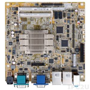 KINO-DBT-N29301 Процессорная плата Mini-ITX SBC, Intel Celeron N2930 1.83ГГц, VGA, DVI-D, iDP, 5xCOM, 6xUSB 2.0, 2xUSB 3.0, 2xGbE LAN, 2xSATA 2, TPM, SMBus, Аудио, RoHS
