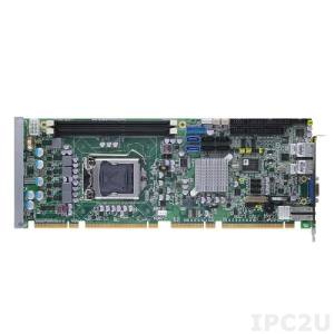 SHB120VGGA Процессорная плата PICMG 1.3 LGA1155 Socket Intel Core i7/i5/i3, Intel Q77 PCH, 2x 240-pin DDR3-1333/1600, 1x VGA, 4x SATA-300, 2x SATA-600, 1x FDD, 2x PS/2, 1x LPT, 2x COM, 1x DVI-D, 6x USB 2.0, 4x USB 3.0, 2xGbit LAN, Audio, x4 BIOS