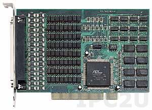PCI-7433 Плата ввода-вывода PCI, 64 каналов DI, гальваническая изоляция