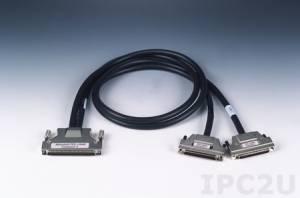 PCL-10268-1E Кабель со 100-контактным и двумя 68-контактными разъемами SCSI, ПВХ, 1 м, до 30 В