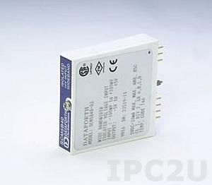 SCM5B43-04D Универсальный нормализатор сигналов с возможностью запитывания датчика, вход -4...+4 В, выход -10...+10 В