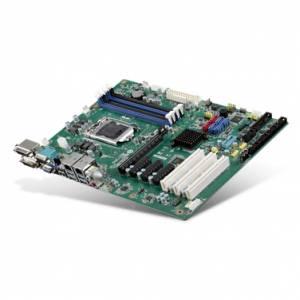AIMB-785G2-00A1E Процессорная плата ATX, сокет LGA1151 для Intel Core i3/i5/i7/Pentium, до 64Гб DDR4 DIMM, VGA/2xDVI, 2xGb LAN, 5xCOM, 5xUSB 2.0, 2xUSB 3.0, GPIO, 6xSATA, Raid 0,1,5,10, слоты расширения 1xPCI- E x16, 3xPCI- E x4, 3xPCI
