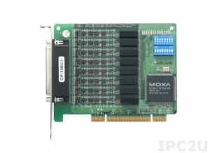 CP-138U-I-T 8-портовая плата RS-422/485 для шины Universal PCI, гальваническая изоляция 2 кВ, -40...+85С, без кабеля