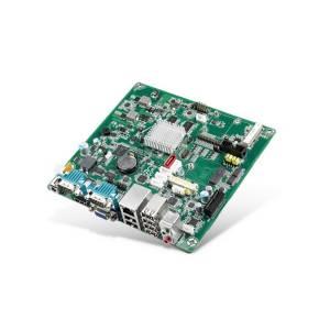 RSB-6410CQ-VNA1E Процессорная плата Mini-ITX, ARM Cortex i.MX6Q 1.0ГГц, 2Гб DDR3, 8Гб eMMC, SATA, HDMI, VGA, LVDS, LAN, 5xCOM, 6xUSB, SD, CAN bus, питание 12В DC
