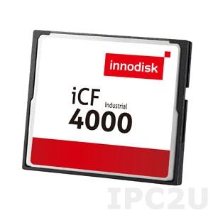 DC1M-02GD31C1DB Карта флеш-памяти 2Гб CompactFlash, серия iCF 4000, SLC, чтение/запись 40/20 Мб (Макс), температрный диапазон 0..+70 C